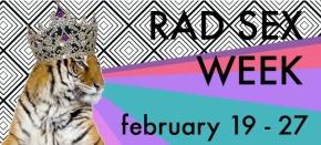 Rad Sex WeekSchedule