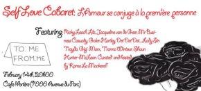 Self Love Cabaret: L'Amour se conjuge à la premièrepersonne