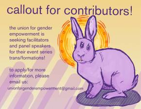 Callout For Trans/Formations Contributors!